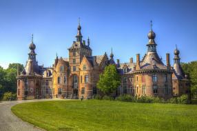 gent  belgien, города, замки бельгии, замок, парк