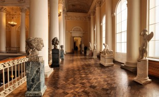 Русский музей, скульптуры, лестница, интерьер, Петр Великий, музей, Санкт Петербург
