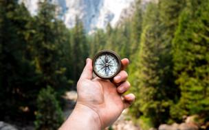 компас, направление