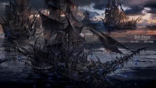 аниме, pixiv fantasia, корабли