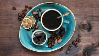 шоколад, кофе, зерна