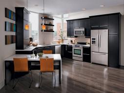 мебель, кухня, интерьер