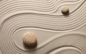 stone, песок, камни, zen, sand