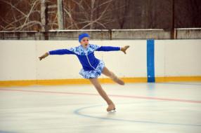 спорт, фигурное катание, девочка