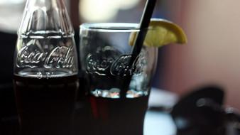 бутылка, стакан, напиток