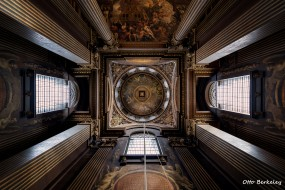интерьер, убранство,  роспись храма, потолок