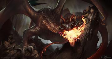 фэнтези, существа, дракон