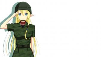 аниме, gate, девушка