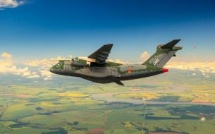 Embraer, Forсa аerea Brasileira, KC-390, FAB, military aircraft, Brazilian Air Force