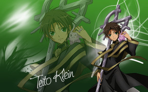 аниме, 07 ghost, teito, klein