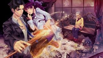 аниме, магия,  колдовство,  halloween