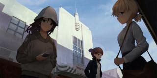 аниме, girls und panzer, girls, und, panzer