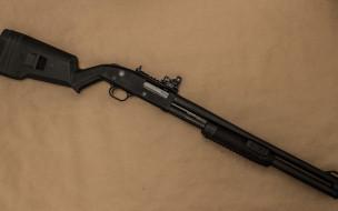 оружие, фон, помповое, ружье