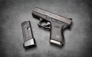 оружие, пистолеты, пистолет, самозарядный, glock, 43, австрийский