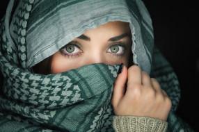 глаза, серые