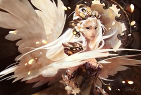 фэнтези, ангелы, арт, fantasy, gianluca, rolli
