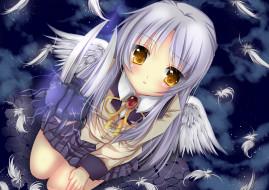 обои для рабочего стола 2000x1414 аниме, angel beats, ангельские, ритмы