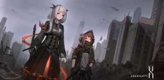 аниме, pixiv fantasia, девушки