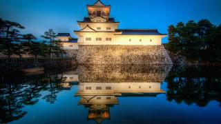 toyama castle, города, замки Японии, toyama, castle