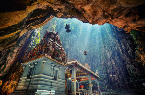 храм, ущелье