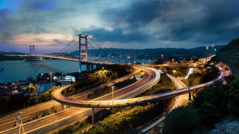 hong kong, города, гонконг , китай, панорама