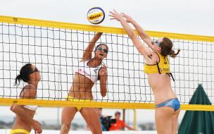 пляжный, девушки, Волейбол