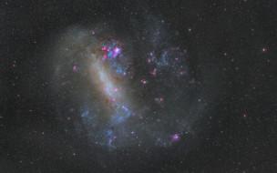 космос, галактики, туманности, watcher, nebula, туманность, звезды