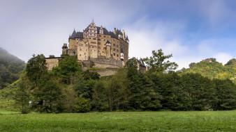 eltz castleeifel germany, города, замки германии, замок