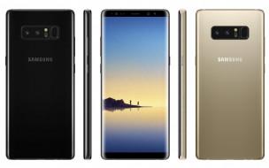 Стильный смартфон Samsung Galaxy Note 8