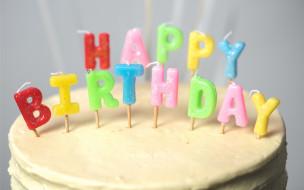 праздничные, день рождения, cake, свечи, торт, candle