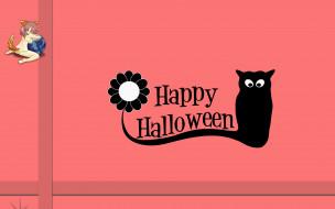 Halloween, тыква, логотип, фон