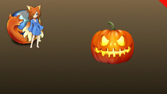 Halloween, фон, тыква, логотип