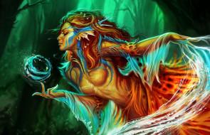 fantasy, магия, арт