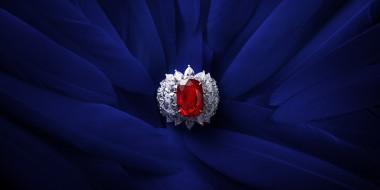 украшение, камень, кольцо