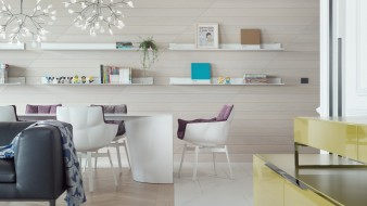 кабинет, стиль, стол, офис