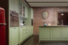 интерьер, кухня, стулья, стол, стиль