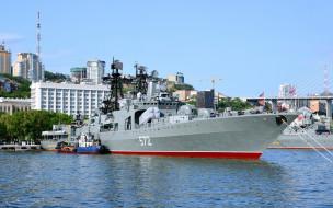 Владивосток, ВМФ, проект 1155, большой, противолодочный, Адмирал Виноградов, корабль