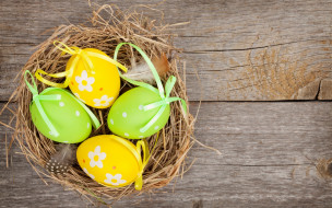 eggs, весна, colorful, happy, holiday, spring, яйца, Пасха, wood, Easter