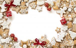 decoration, cookies, Christmas, Рождество, gingerbread, глазурь, печенье, сладкое, Merry, выпечка, Новый Год, Xmas