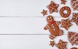 Новый Год, decoration, cookies, Рождество, глазурь, печенье, сладкое, gingerbread, Christmas, Merry, выпечка, Xmas