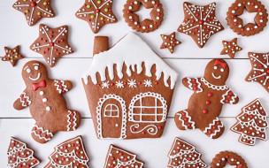 выпечка, Новый Год, Xmas, decoration, cookies, Christmas, Merry, Рождество, глазурь, печенье, сладкое, gingerbread