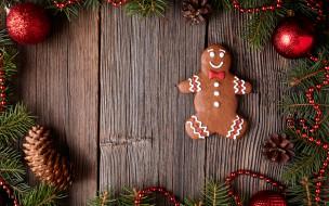 Merry, выпечка, decoration, cookies, Christmas, Рождество, глазурь, печенье, сладкое, gingerbread, Новый Год, Xmas