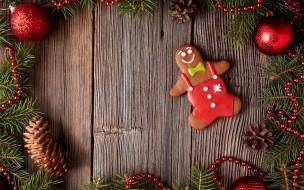 Christmas, decoration, cookies, Рождество, глазурь, печенье, сладкое, gingerbread, Merry, выпечка, Новый Год, Xmas