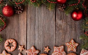печенье, сладкое, глазурь, cookies, Christmas, decoration, Рождество, gingerbread, Merry, выпечка, Новый Год, Xmas