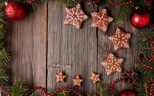 глазурь, печенье, Рождество, decoration, cookies, Christmas, сладкое, gingerbread, Merry, выпечка, Новый Год, Xmas