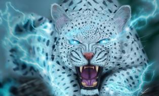рисованное, животные, зверь