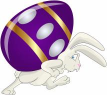 кролик, яйцо