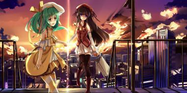 аниме, comic party, девушки