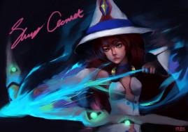 аниме, little witch academia, академия, ведьмочек