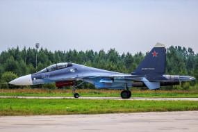 u-30sm, авиация, боевые самолёты, истребитель, су-30см, россия, ввс